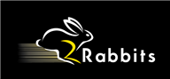 Logoinn created this logo for 2Rabbits - who are in the Toys Logo Design  Sectors