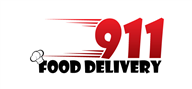 Logoinn created this logo for 911 Food Delivery - who are in the Cafes Logo Design  Sectors