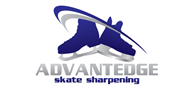 Logoinn created this logo for ADVANTEDGE Skate Sharpening - who are in the Sports Logo Design  Sectors