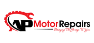 Logoinn created this logo for AP Motor Repairs - who are in the Automotive Logo Design  Sectors