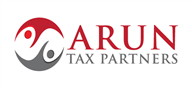 Logoinn created this logo for ARUN TAX PARTNERS LTD - who are in the Accountancy Firm Logo Design  Sectors