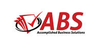 Logoinn created this logo for Accomplished Business Solutions - who are in the Accounting Logo Design  Sectors