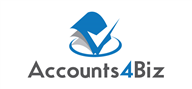 Logoinn created this logo for Accounts 4 Biz - who are in the Accountancy Firm Logo Design  Sectors