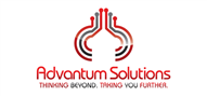 Logoinn created this logo for Advantum Solutions - who are in the Information Technology Logo Design  Sectors