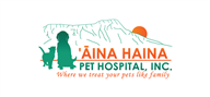 Logoinn created this logo for Aina Haina Pet Hospital, inc.  - who are in the Veterinary Logo Design  Sectors