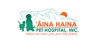 Logoinn created this logo for Aina Haina Pet Hospital, inc.  - who are in the Veterinary Logo Design  Sectors