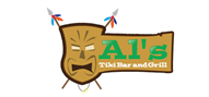 Logoinn created this logo for Al's Tiki Bar and Grill - who are in the Restaurants Logo Design  Sectors