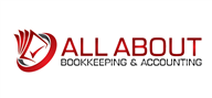 Logoinn created this logo for All About Bookkeeping & Accounting - who are in the Accounting Logo Design  Sectors