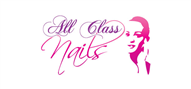 Logoinn created this logo for All Class Nails - who are in the Makeup Logo  Sectors