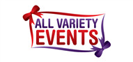 Logoinn created this logo for All Variety Events - who are in the Events Logo Design  Sectors