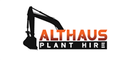 Logoinn created this logo for Althaus Plant Hire - who are in the Civil Engineering Logo  Sectors