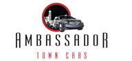 Logoinn created this logo for Ambassador Town Cars - who are in the Transportation Logo Design  Sectors