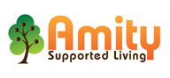 Logoinn created this logo for Amity Supported Living - who are in the Health Logo Design  Sectors