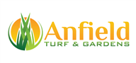 Logoinn created this logo for Anfield Turf & Gardens - who are in the Landscape Logo Design  Sectors