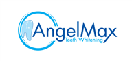 Logoinn created this logo for AngelMax Teeth Whitening - who are in the Dentist Logo Design  Sectors