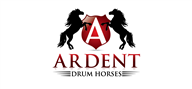 Logoinn created this logo for Ardent Drum Horses - who are in the Military Logo Design  Sectors