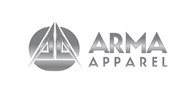 Logoinn created this logo for Arma Apparel  - who are in the Apparel Logo Design  Sectors