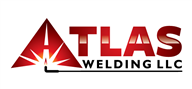 Logoinn created this logo for Atlas Welding LLC - who are in the Industrial Logo Design  Sectors