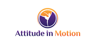 Logoinn created this logo for Attitude in Motion - who are in the Weight loss Logo  Sectors