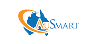 Logoinn created this logo for AuSmart Migration Services  - who are in the Services Logo Design  Sectors