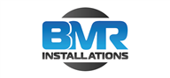 Logoinn created this logo for BMR Installations - who are in the Tools Logo Design  Sectors