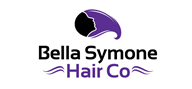 Logoinn created this logo for Bella Symone Hair Co - who are in the Hair Logo Design  Sectors