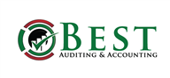 Logoinn created this logo for Best Auditing & Accounting - who are in the Advisory Logo Design  Sectors