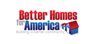 Logoinn created this logo for Better Home for America LLC - who are in the Government Logo Design  Sectors