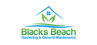 Logoinn created this logo for Blacks Beach Garden & General Maintenance - who are in the Outdoor Logo Design  Sectors