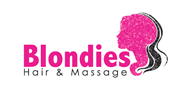 Logoinn created this logo for Blondies Hair and Massage - who are in the Hair Logo Design  Sectors