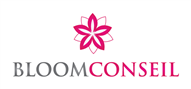 Logoinn created this logo for Bloom Conseil SA - who are in the Law Logo Design  Sectors