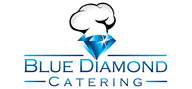 Logoinn created this logo for Blue Diamond Catering Ltd - who are in the Food Logo Design  Sectors