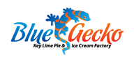 Logoinn created this logo for Blue Gecko Key lime pie and ice cream factory - who are in the Cafes Logo Design  Sectors