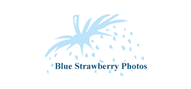 Logoinn created this logo for BlueStrawberryPhotos - who are in the Photography Logo Design  Sectors