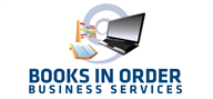 Logoinn created this logo for Books in order business Services LLC - who are in the Accountancy Firm Logo Design  Sectors