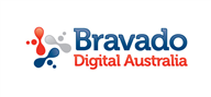 Logoinn created this logo for Bravado Digital Australia - who are in the Information Technology Logo Design  Sectors