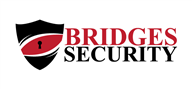 Logoinn created this logo for Bridges Security - who are in the Security Services Logo Design  Sectors