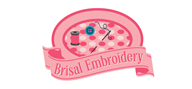 Logoinn created this logo for Brisal Embroidery - who are in the Apparel Logo Design  Sectors
