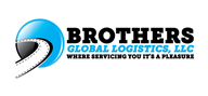 Logoinn created this logo for Brothers Global Logistics, LLC - who are in the Transportation Logo Design  Sectors