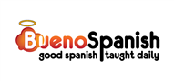 Logoinn created this logo for Bueno Spanish - who are in the Education Logo Design  Sectors