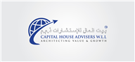Logoinn created this logo for CAPITAL HOUSE ADVISERS - who are in the Arabic Logo Design  Sectors