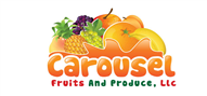 Logoinn created this logo for CAROUSEL FRUITS AND PRODUCE,LLC - who are in the Food Logo Design  Sectors