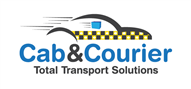 Logoinn created this logo for Cab and Courier - who are in the Transportation Logo Design  Sectors