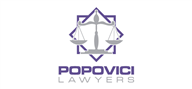 Logoinn created this logo for Cabinet de avocat Popovici Florin - who are in the Law Logo Design  Sectors