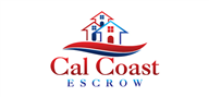 Logoinn created this logo for Cal Coast Escrow - who are in the Party Logo  Sectors