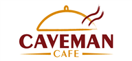 Logoinn created this logo for Caveman Cafe - who are in the Food Logo Design  Sectors