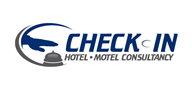 Logoinn created this logo for Check In Hotel Motel Consultancy - who are in the Hotel Logo  Sectors