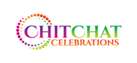 Logoinn created this logo for Chit Chat Celebrations - who are in the Publishing Logo  Sectors