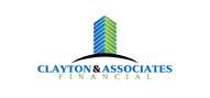 Logoinn created this logo for Clayton & Associates Financial - who are in the Real Estate Logo Design  Sectors