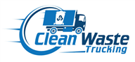 Logoinn created this logo for Clean Waste Trucking - who are in the Transportation Logo Design  Sectors